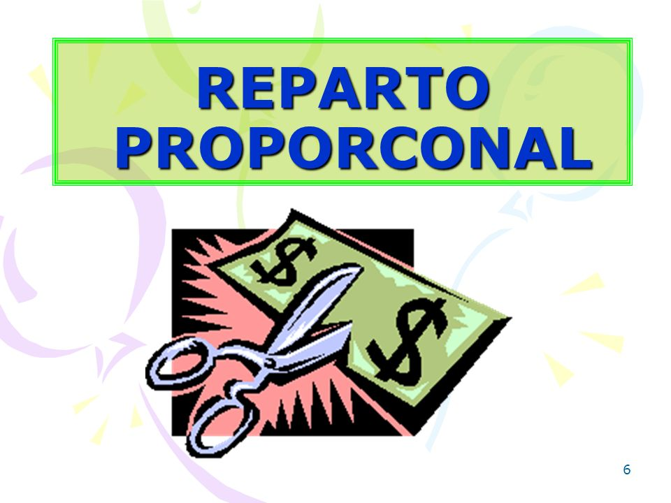 REPARTO PROPORCONAL