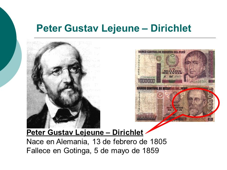 Peter Gustav Lejeune – Dirichlet