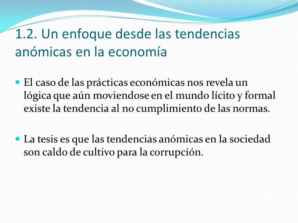 1.2. Un enfoque desde las tendencias anómicas en la economía