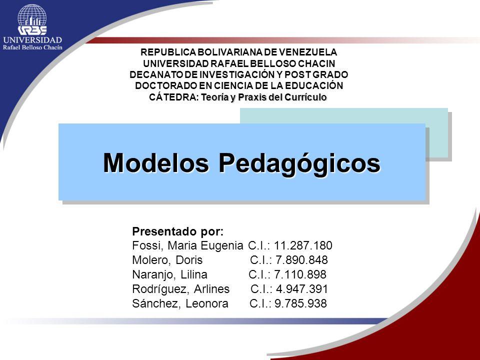 CÁTEDRA: Teoría y Praxis del Currículo