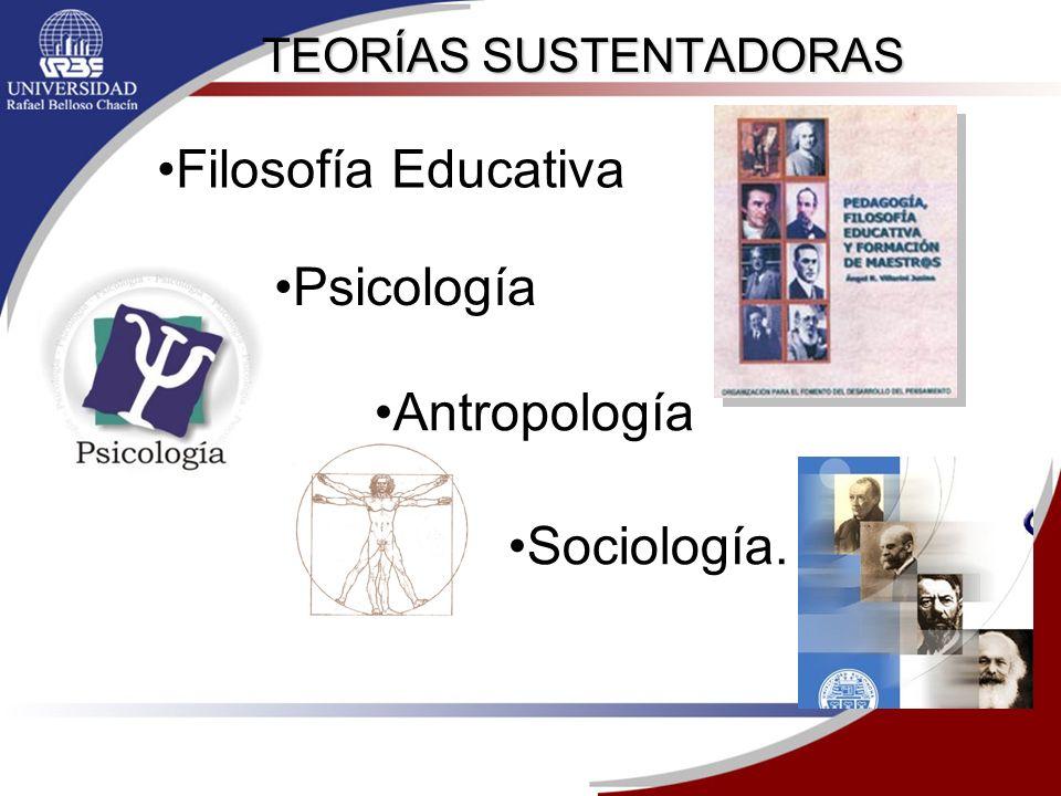 TEORÍAS SUSTENTADORAS