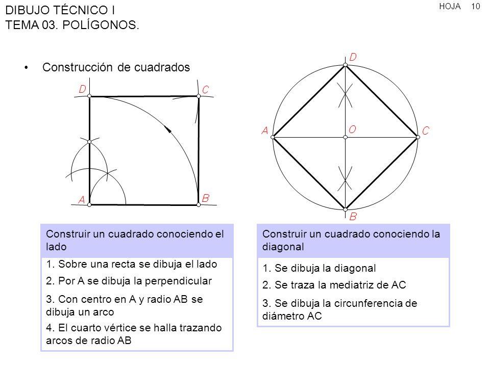 Construcción de cuadrados