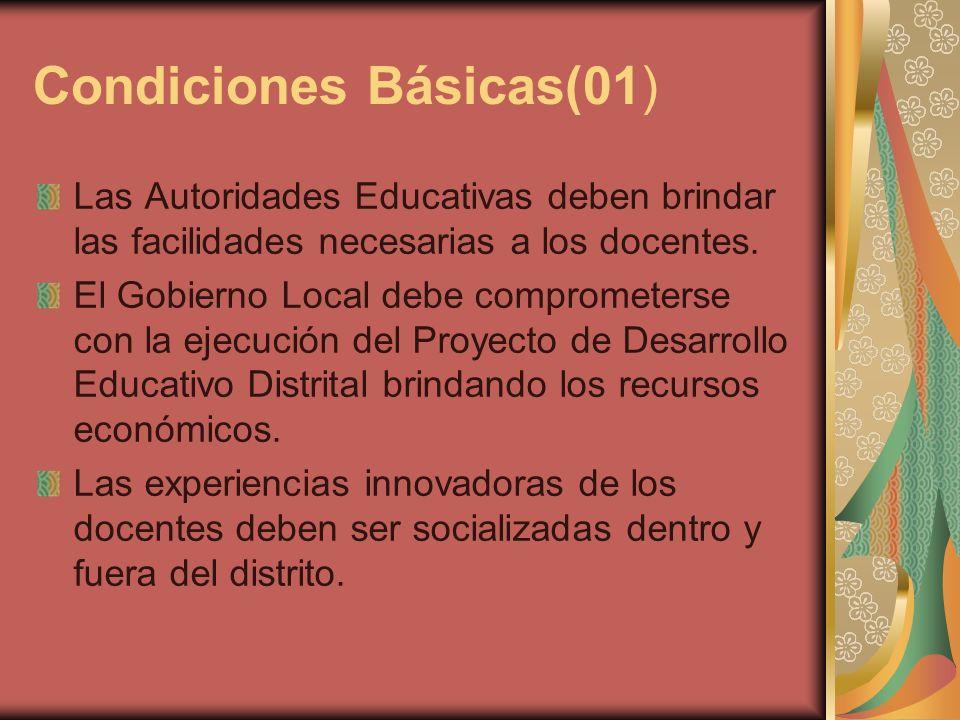 Condiciones Básicas(01)