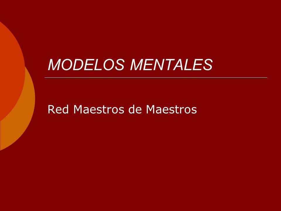 MODELOS MENTALES Red Maestros de Maestros