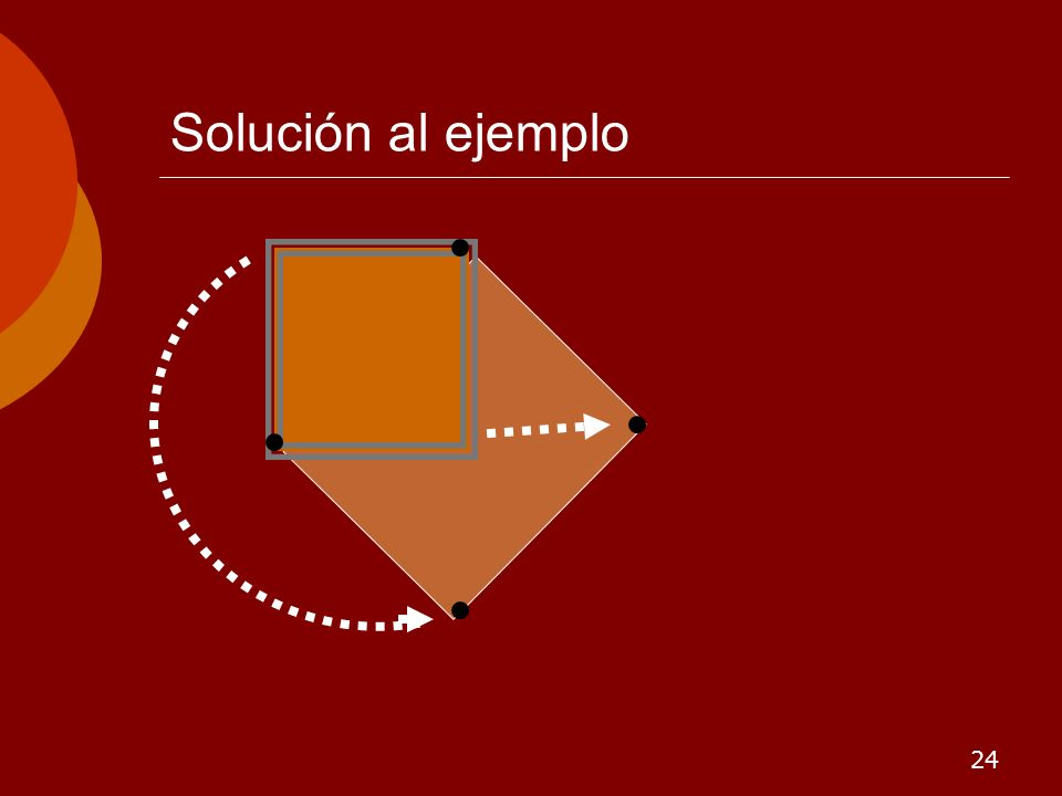 Solución al ejemplo