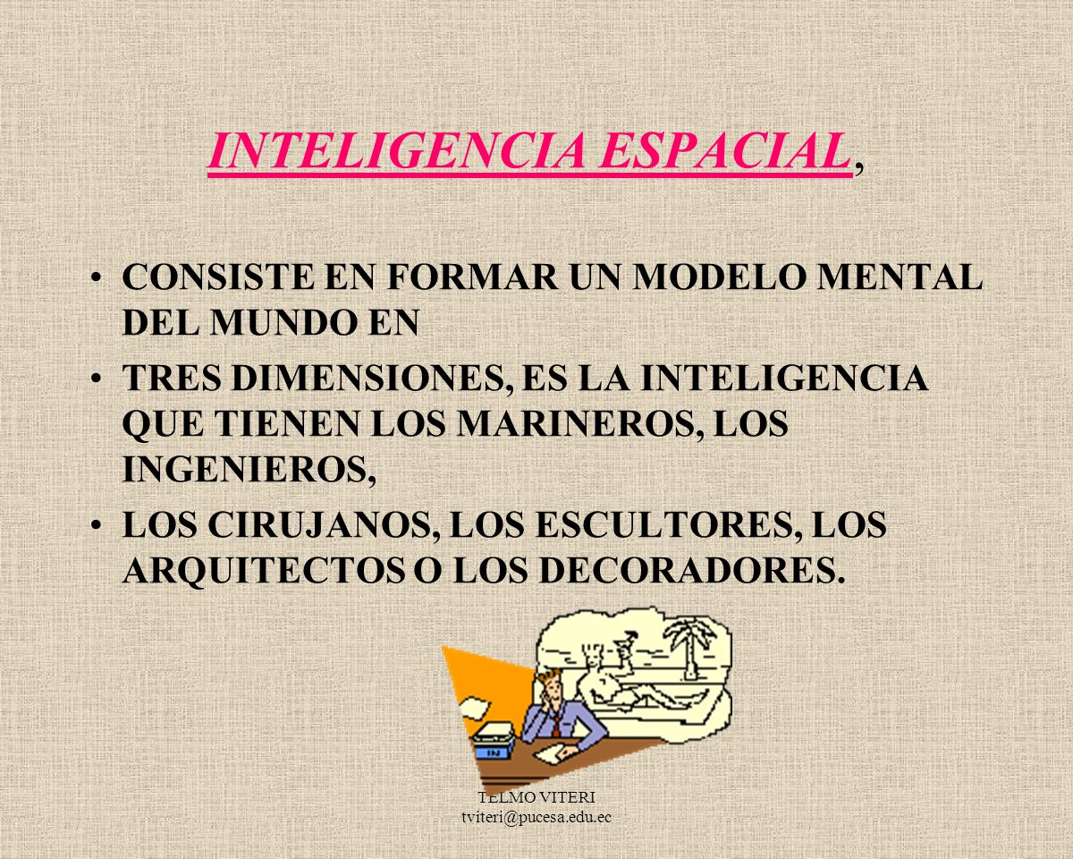 INTELIGENCIA ESPACIAL,