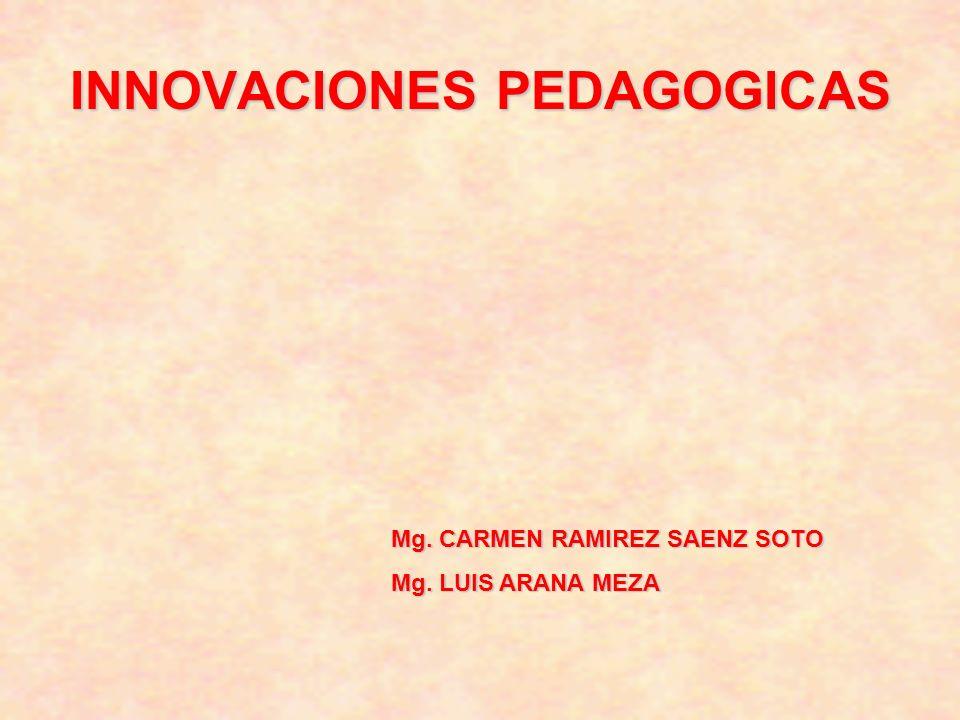 INNOVACIONES PEDAGOGICAS