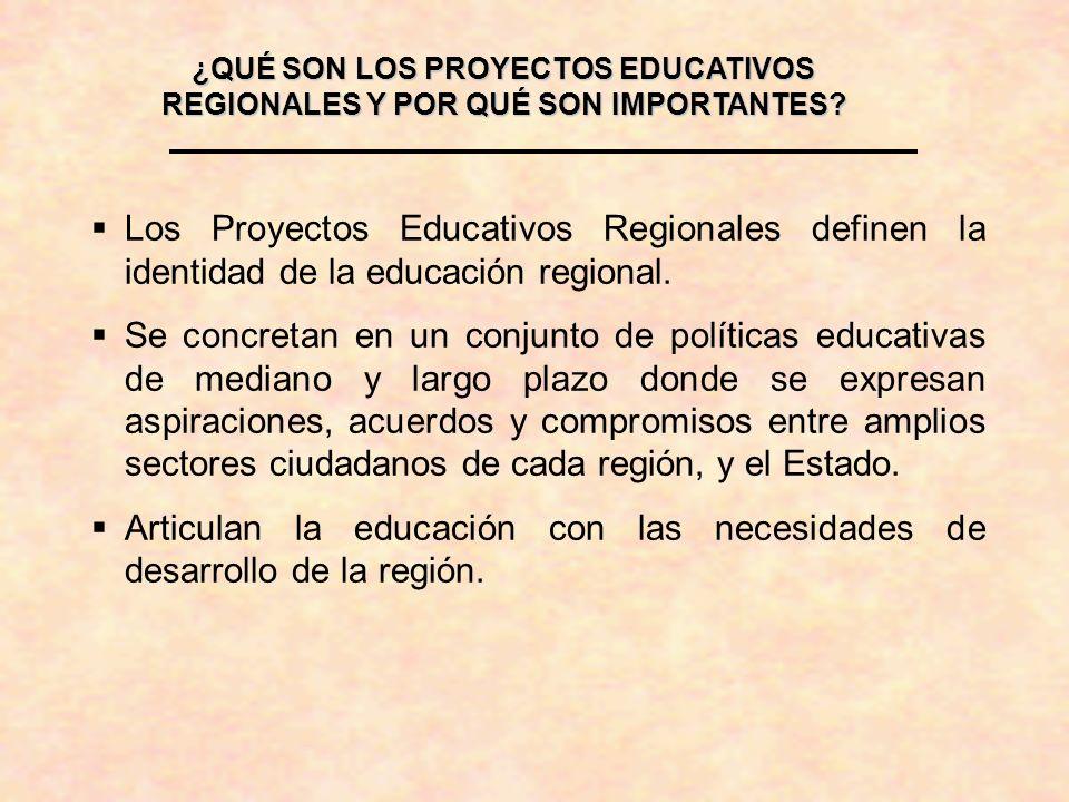 Articulan la educación con las necesidades de desarrollo de la región.