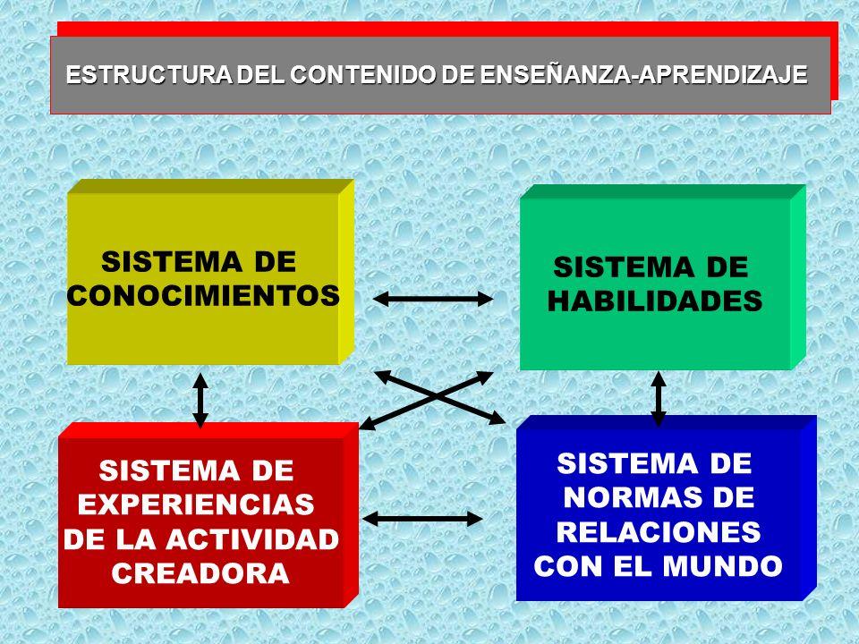 SISTEMA DE SISTEMA DE CONOCIMIENTOS HABILIDADES SISTEMA DE SISTEMA DE