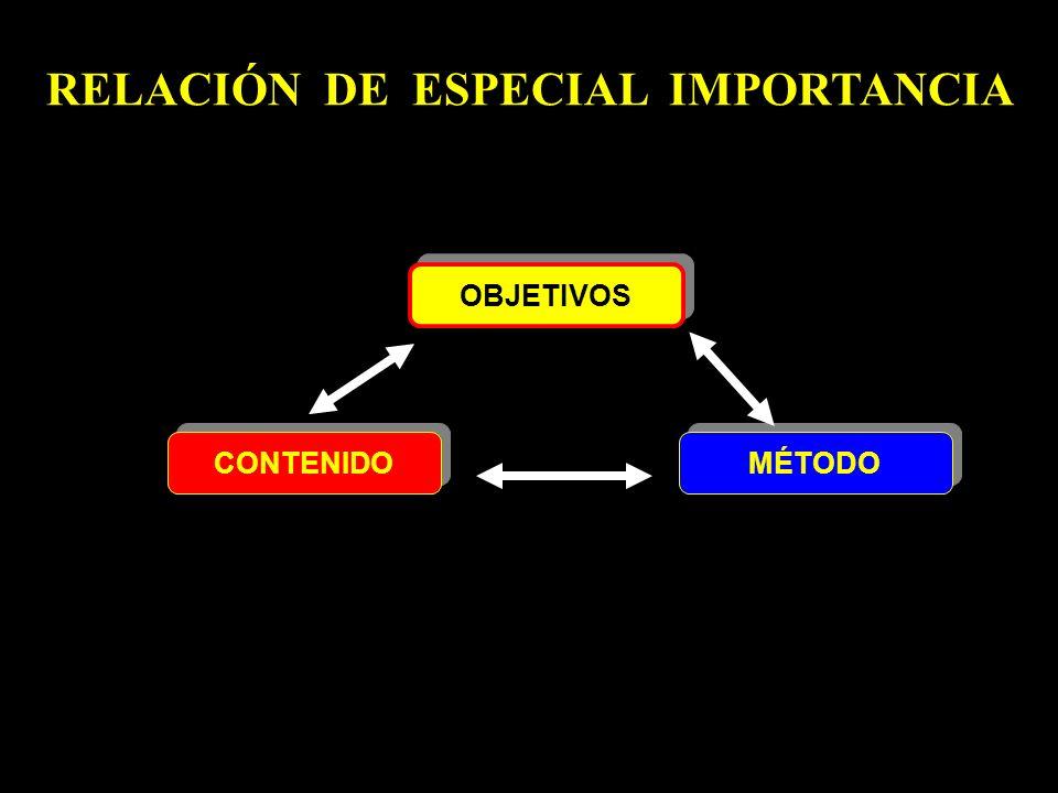 RELACIÓN DE ESPECIAL IMPORTANCIA