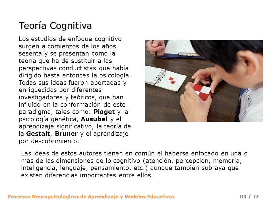 Teoría Cognitiva