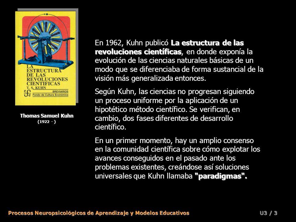 En 1962, Kuhn publicó La estructura de las revoluciones científicas, en donde exponía la evolución de las ciencias naturales básicas de un modo que se diferenciaba de forma sustancial de la visión más generalizada entonces.