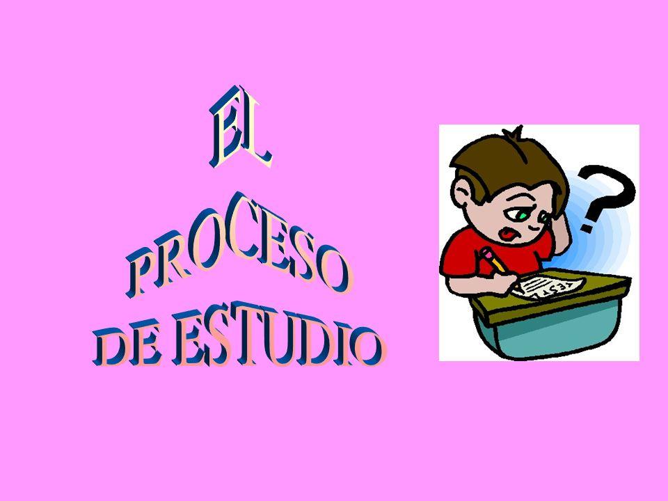 EL PROCESO DE ESTUDIO