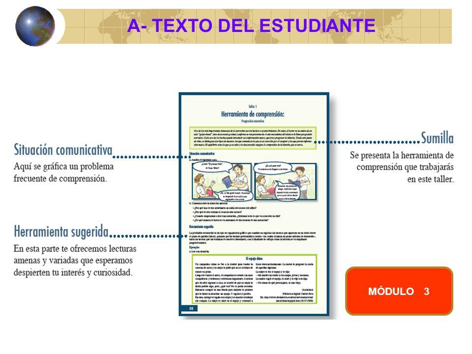 A- TEXTO DEL ESTUDIANTE