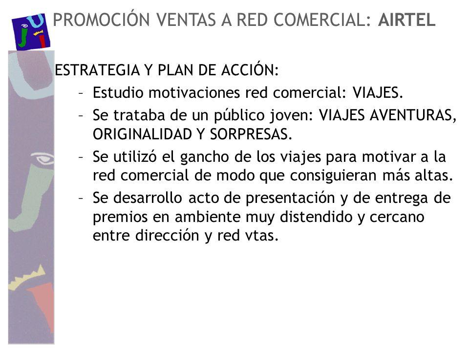 PROMOCIÓN VENTAS A RED COMERCIAL: AIRTEL
