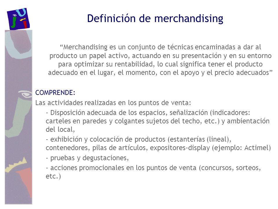 Definición de merchandising