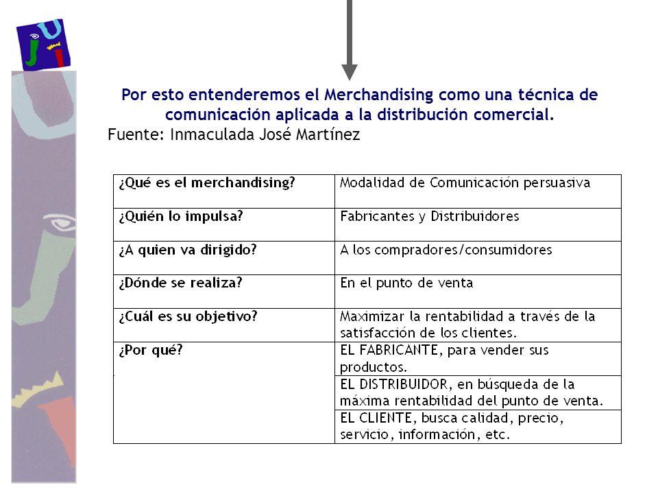 Por esto entenderemos el Merchandising como una técnica de comunicación aplicada a la distribución comercial.