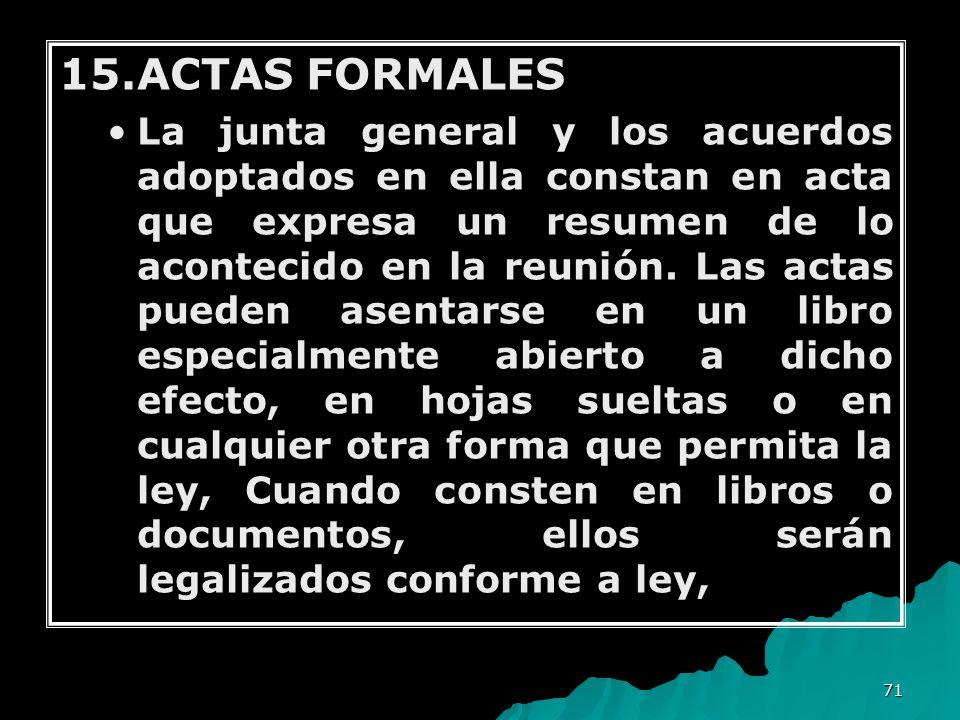 15.ACTAS FORMALES