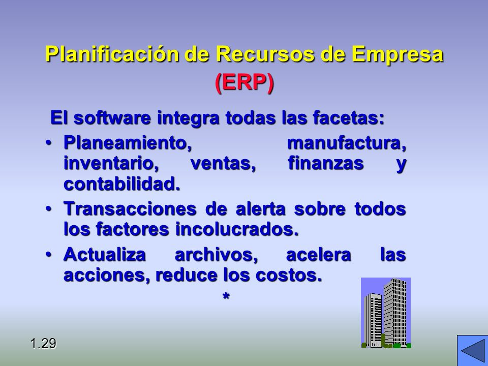 Planificación de Recursos de Empresa (ERP)