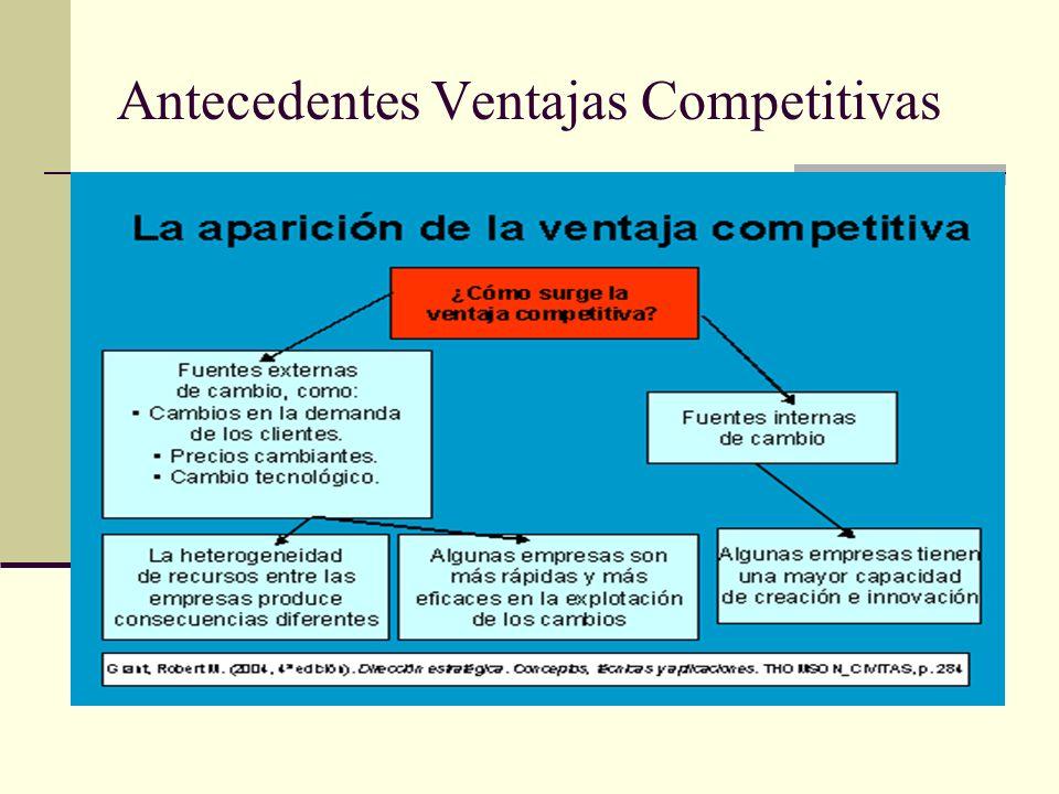Antecedentes Ventajas Competitivas