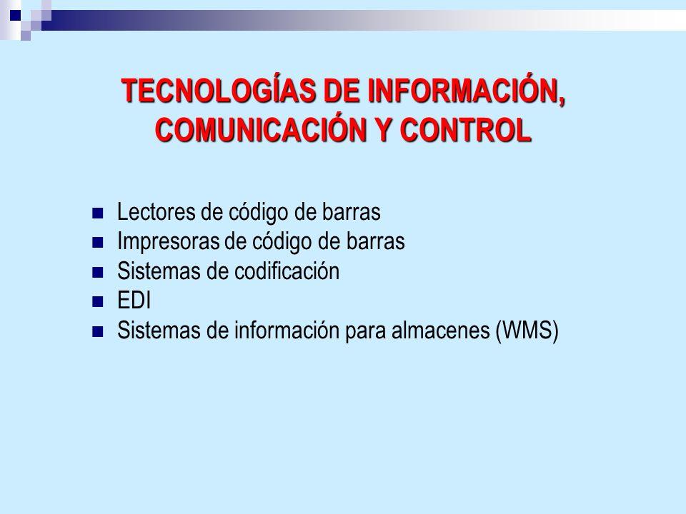 TECNOLOGÍAS DE INFORMACIÓN, COMUNICACIÓN Y CONTROL