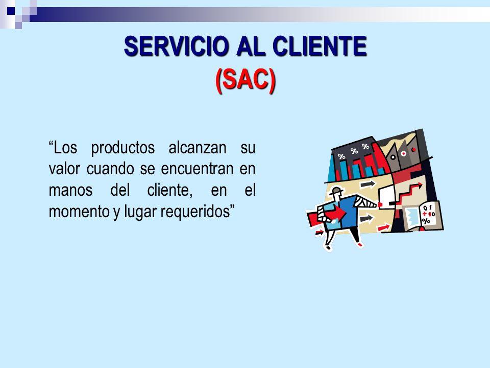 SERVICIO AL CLIENTE (SAC)