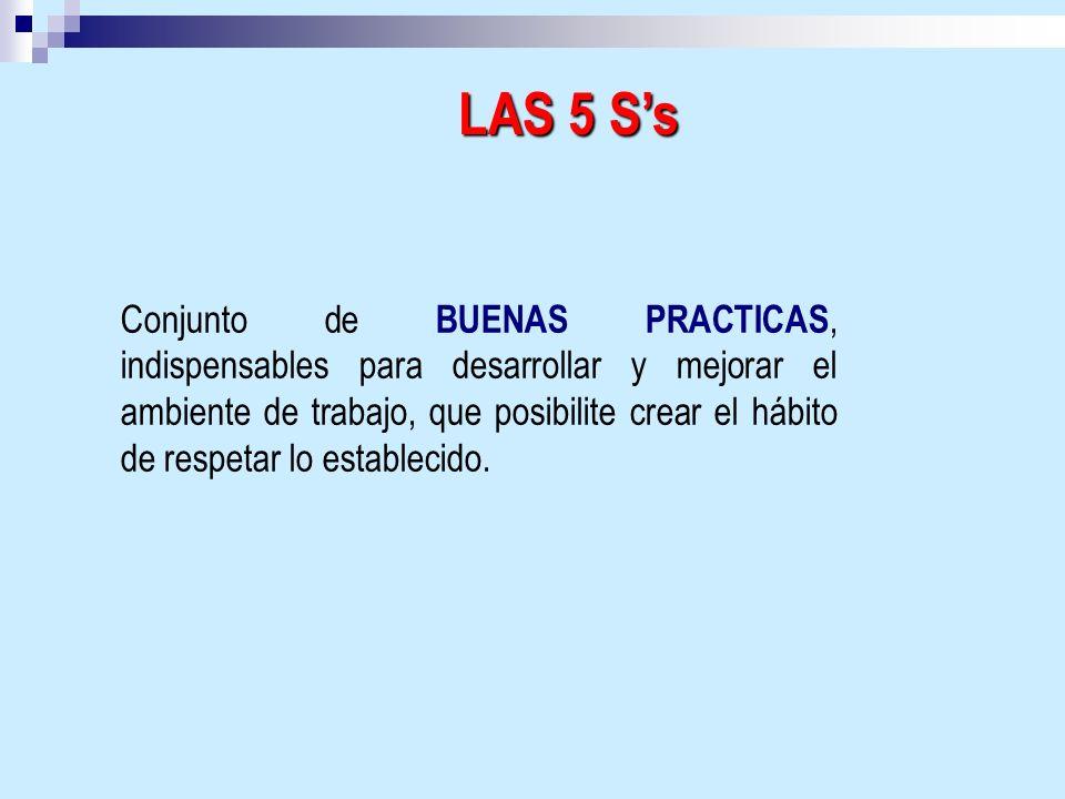 LAS 5 S's
