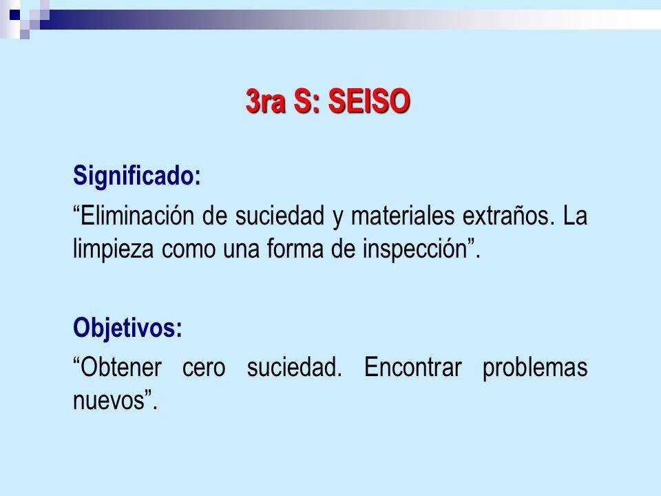 3ra S: SEISO Significado: