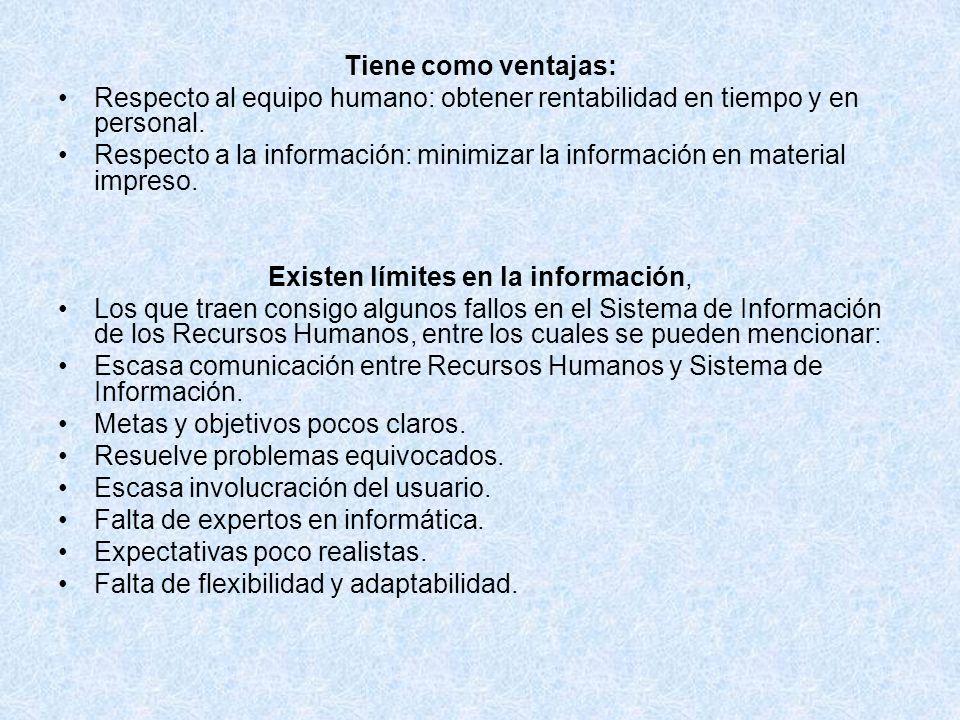 Existen límites en la información,