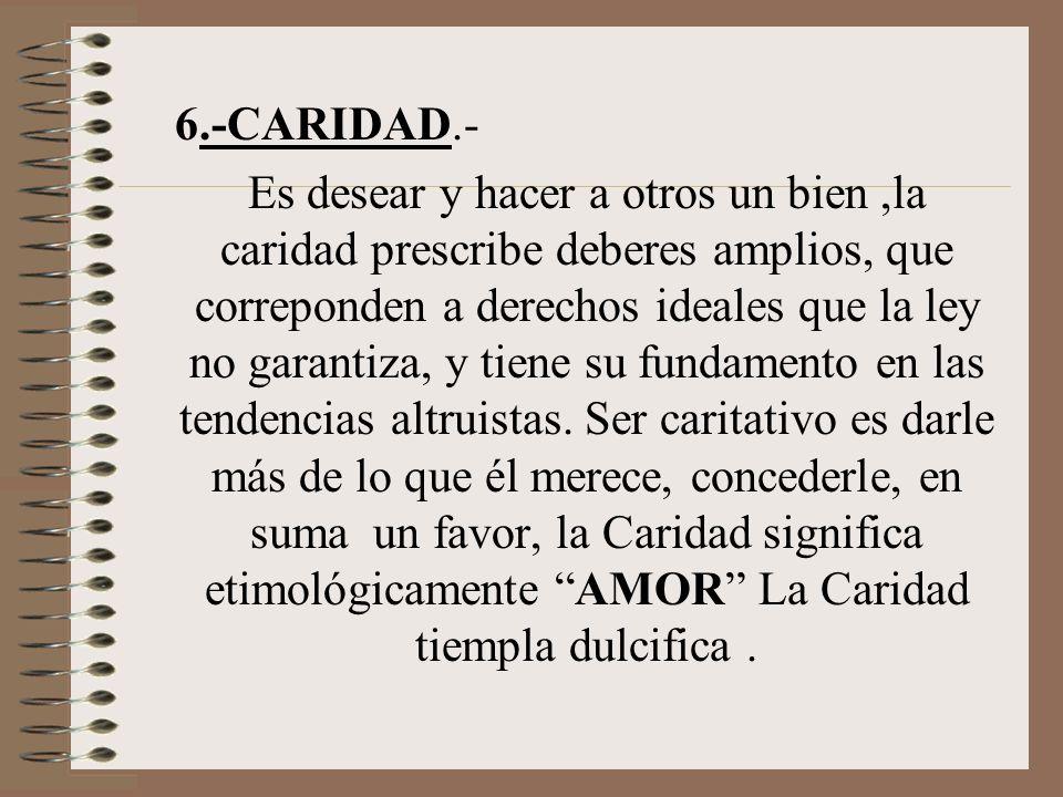 6.-CARIDAD.-
