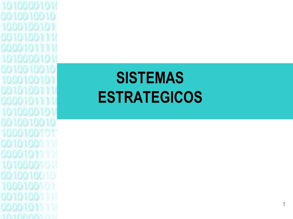 SISTEMAS ESTRATEGICOS