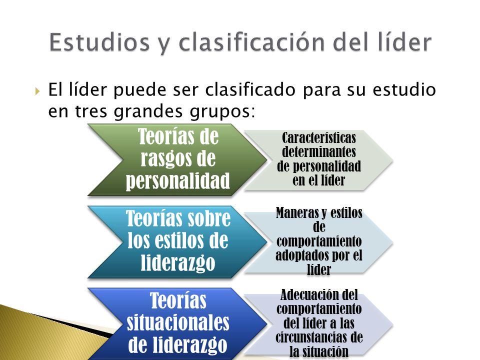 Estudios y clasificación del líder