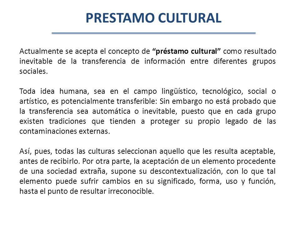 PRESTAMO CULTURAL