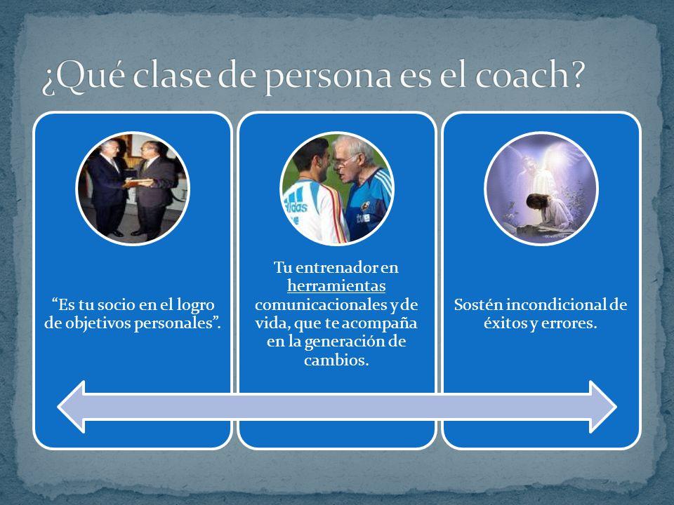 ¿Qué clase de persona es el coach