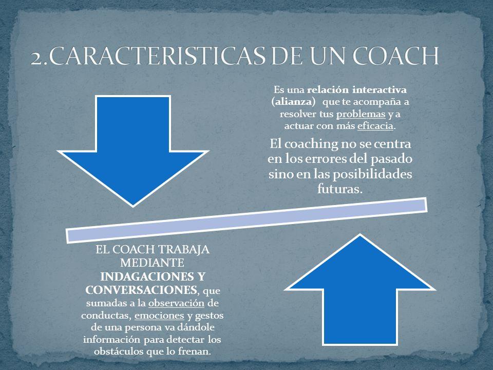2.CARACTERISTICAS DE UN COACH