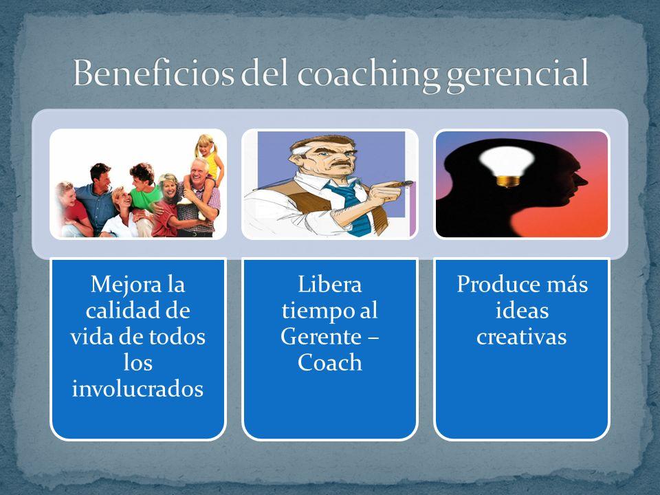 Beneficios del coaching gerencial