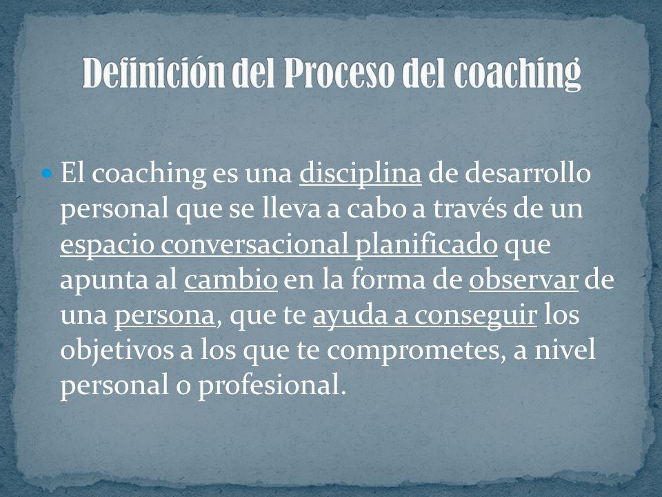 Definición del Proceso del coaching
