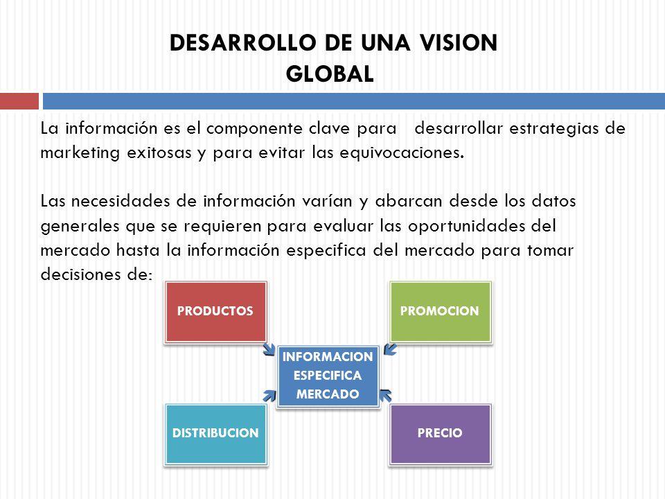 DESARROLLO DE UNA VISION GLOBAL