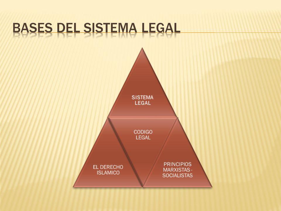 BASES DEL SISTEMA LEGAL
