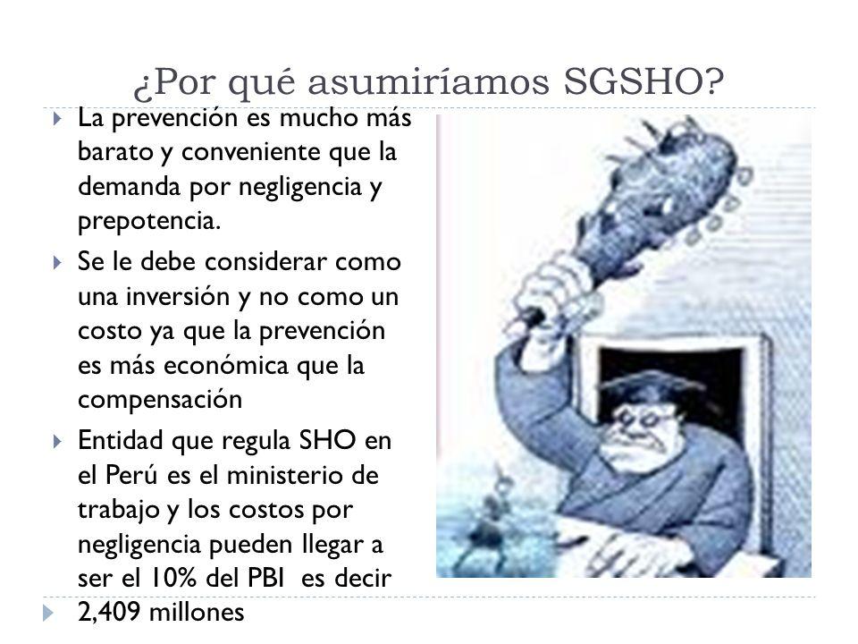 ¿Por qué asumiríamos SGSHO