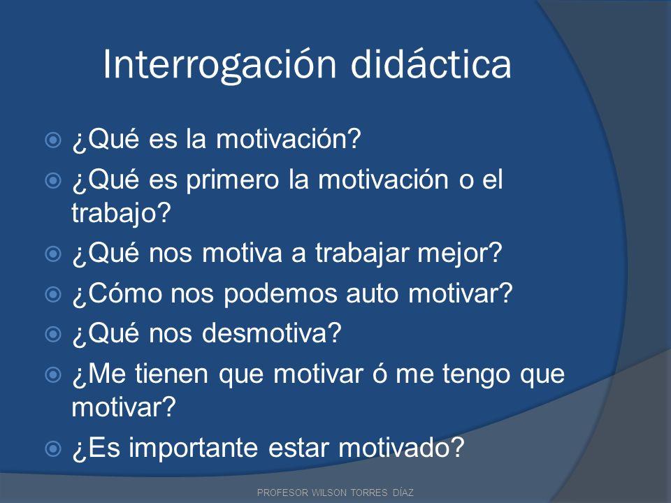 Interrogación didáctica