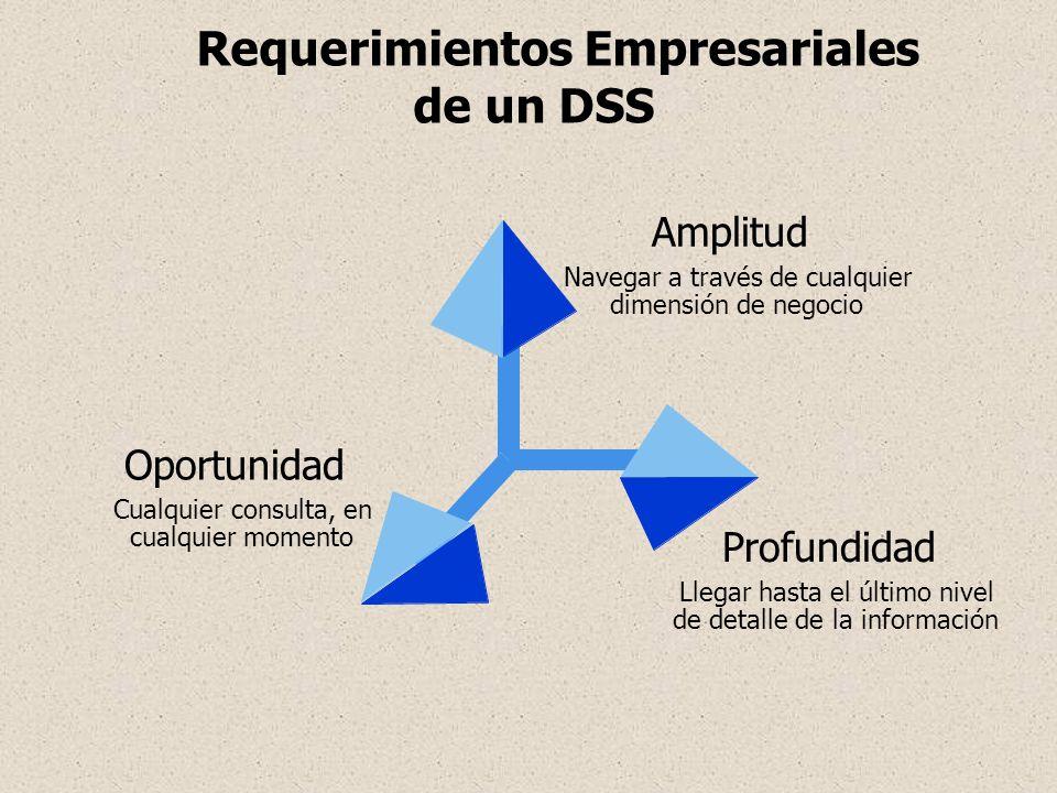 Requerimientos Empresariales de un DSS