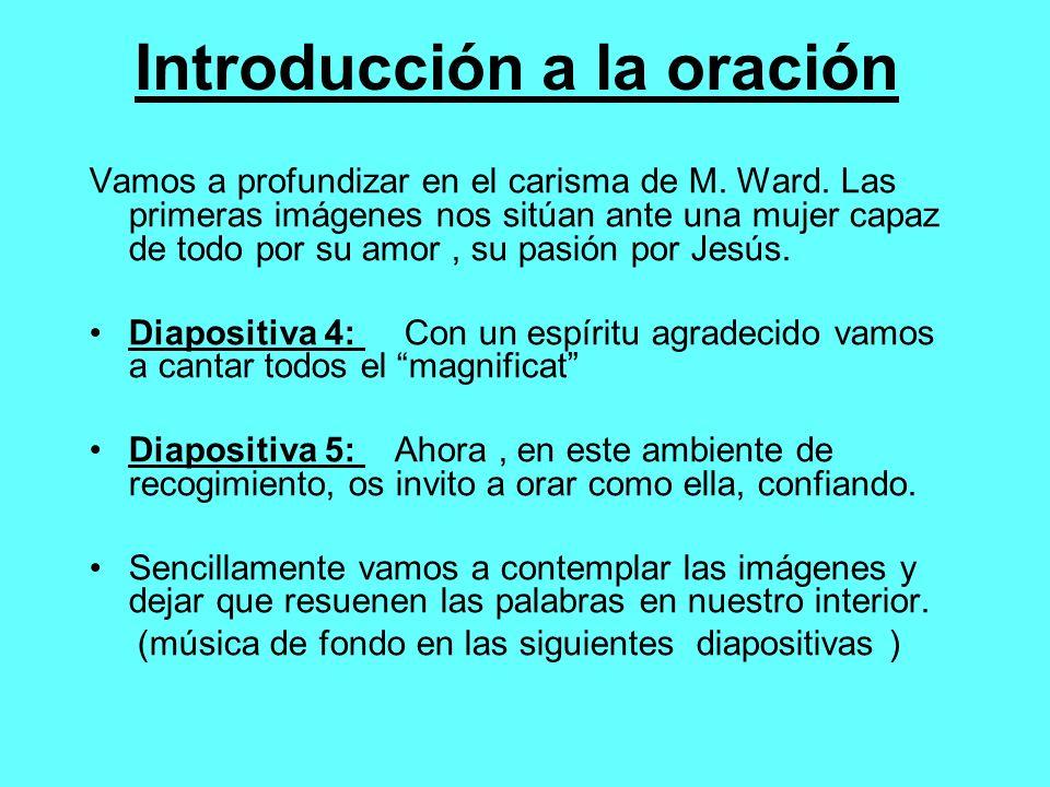 Introducción a la oración