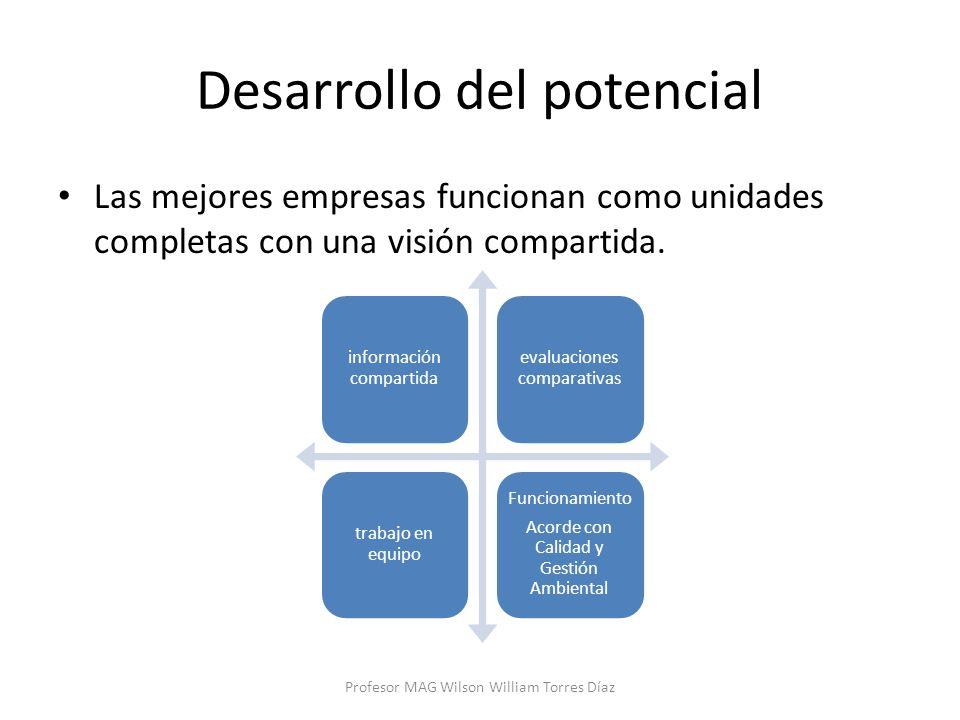 Desarrollo del potencial