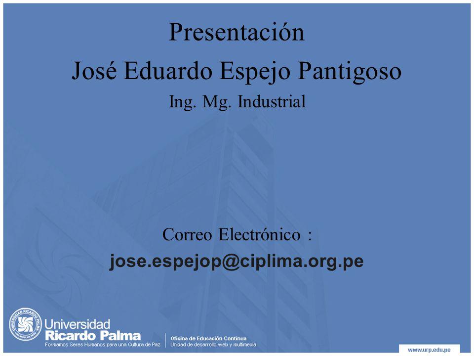 José Eduardo Espejo Pantigoso