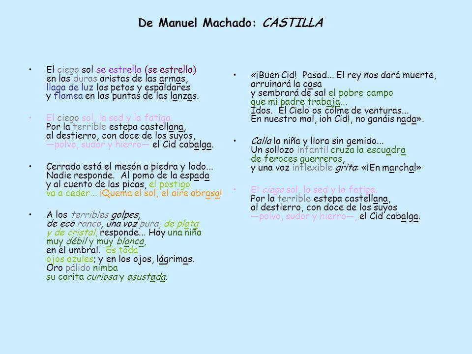 De Manuel Machado: CASTILLA