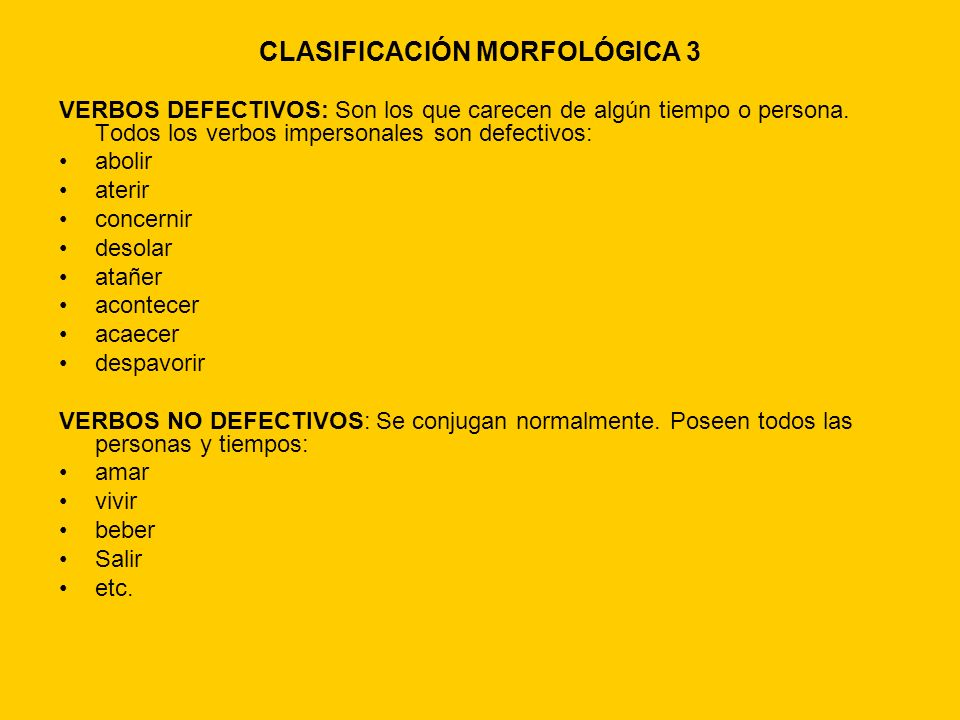 CLASIFICACIÓN MORFOLÓGICA 3