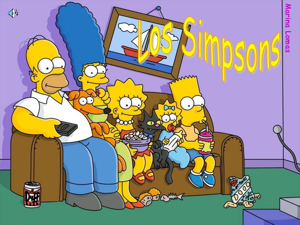 Los Simpsons Marina Lomas