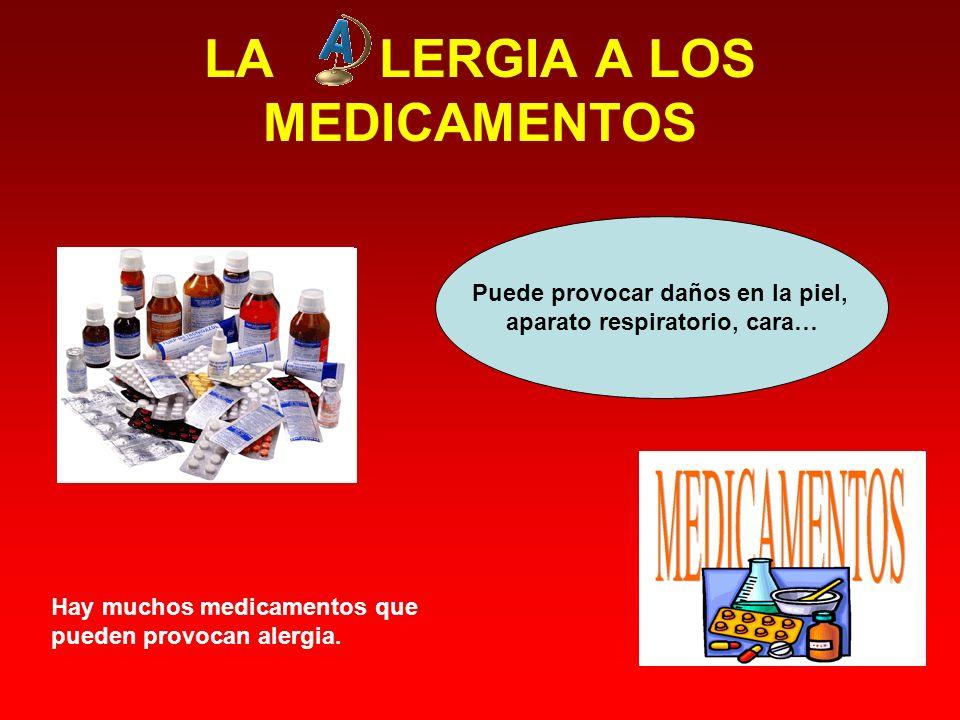 LA LERGIA A LOS MEDICAMENTOS