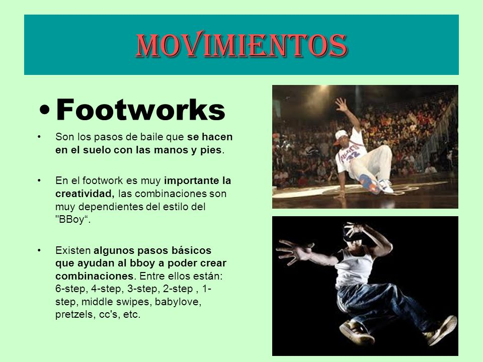 Movimientos Footworks